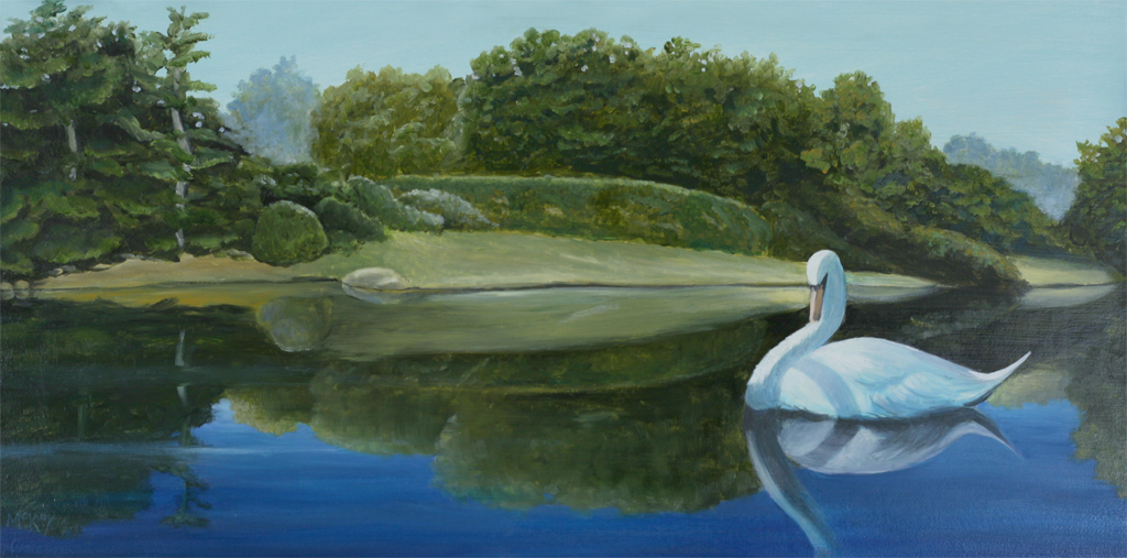 Japanse Pond with Swan -1024.jpg