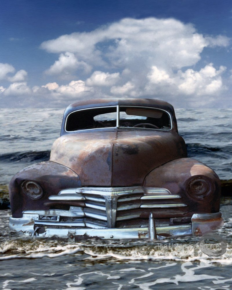 """""""Washed Up"""" by Dave Coleman."""