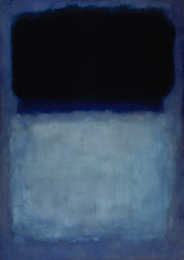 Mark Rothko, Green on Blue, 1956.