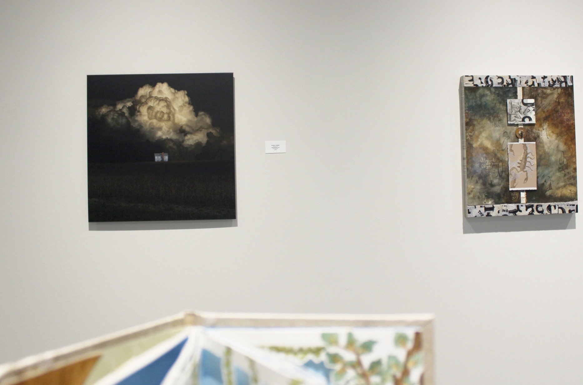 """Caldwell's award-winning artwork """"Generational Sin"""" is featured in Gallery I of  Tell Me A Story at the Foundry Art Centre."""