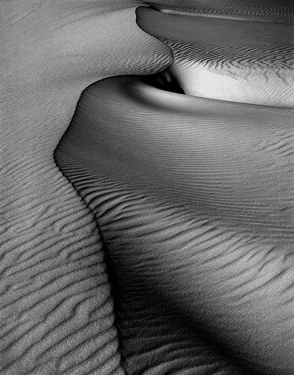 """Sand Dune, White Sands National Monument, New Mexico"" // Richard Sprengeler // Photograph"