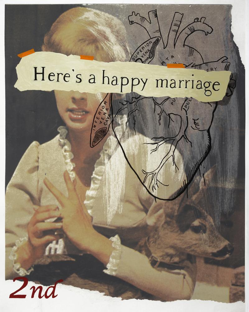 """""""Thin Line (happy marriage)"""" by Deborah Douglas"""
