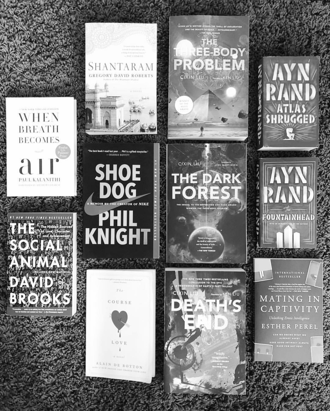 5-Star Books on Goodreads, taken by Renee C.