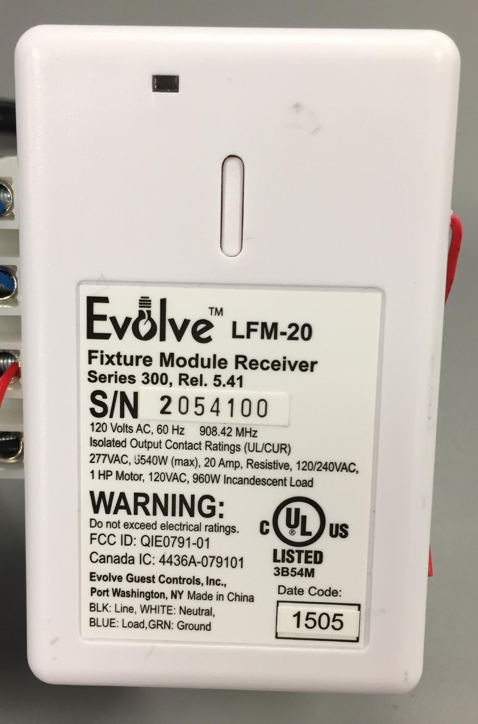 Evolve LFM-20 dry switch. See it on Amazon.