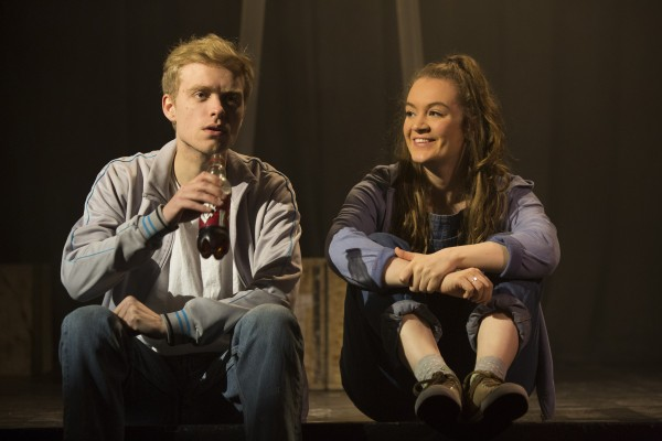 DNA 2016 - This was my first version of Dennis Kelly's DNA. Produced with the NYT REP company I directed this production at the Ambassador's Theatre, London. Pictured is Joe Pierson and Catrin Walker-Booth. Photo by Helen Murray.
