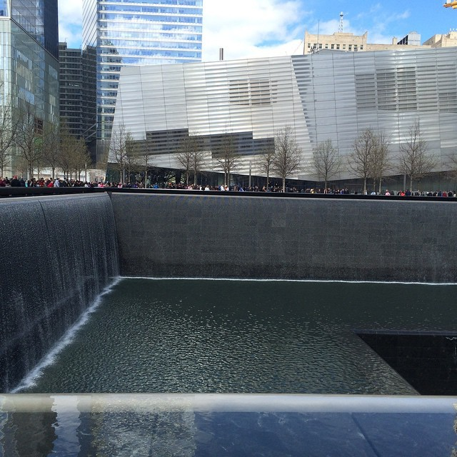 The 911 tribute walking tour is very moving. #never forget #movingstories  (at World Trade Center)