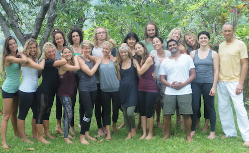 Elemental Yoga Therapy Training, Bali, 2016