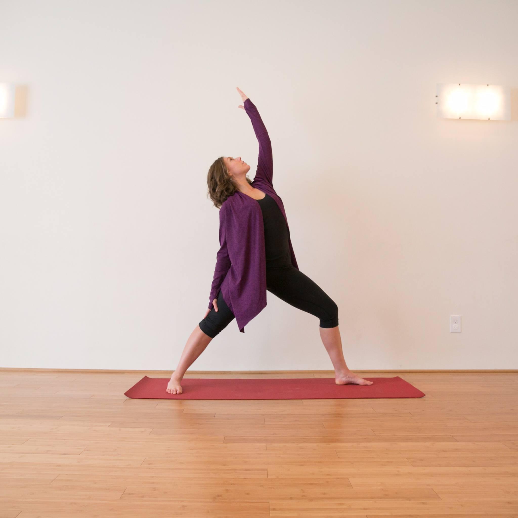 Energizing Yoga Pose