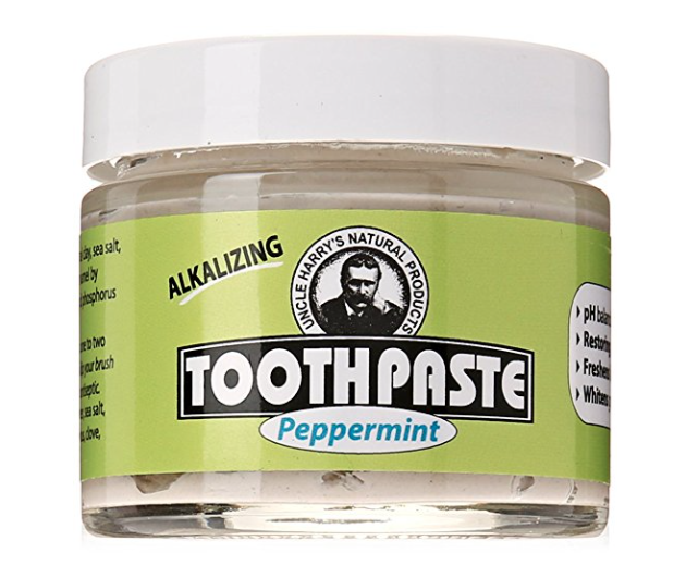 Uncle Harry's Fluoride Free Toothpaste