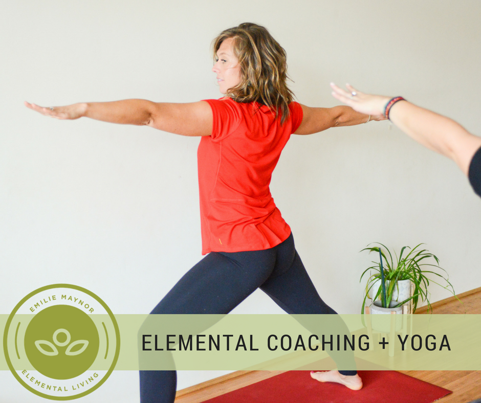 Elemental Coaching + Yoga Therapy Session