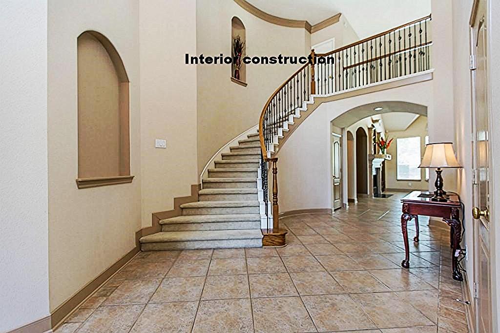 Interior constuction