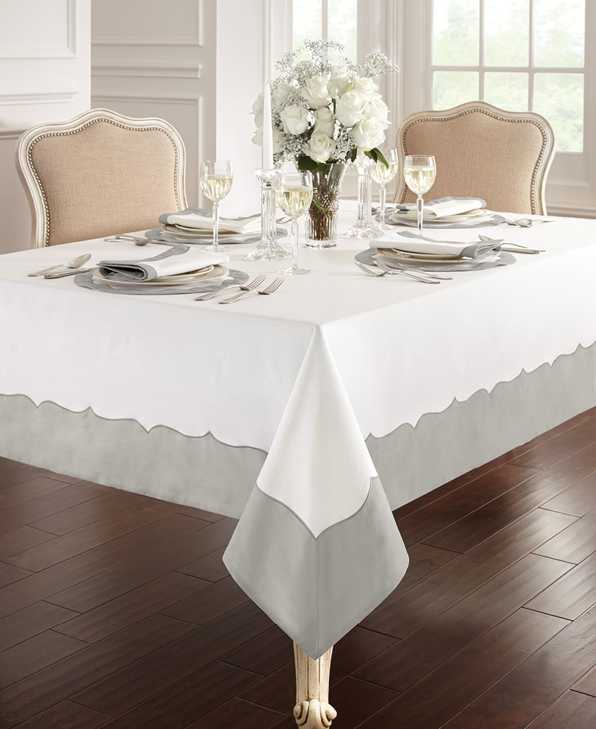Waterford Cassia Table, in Silver