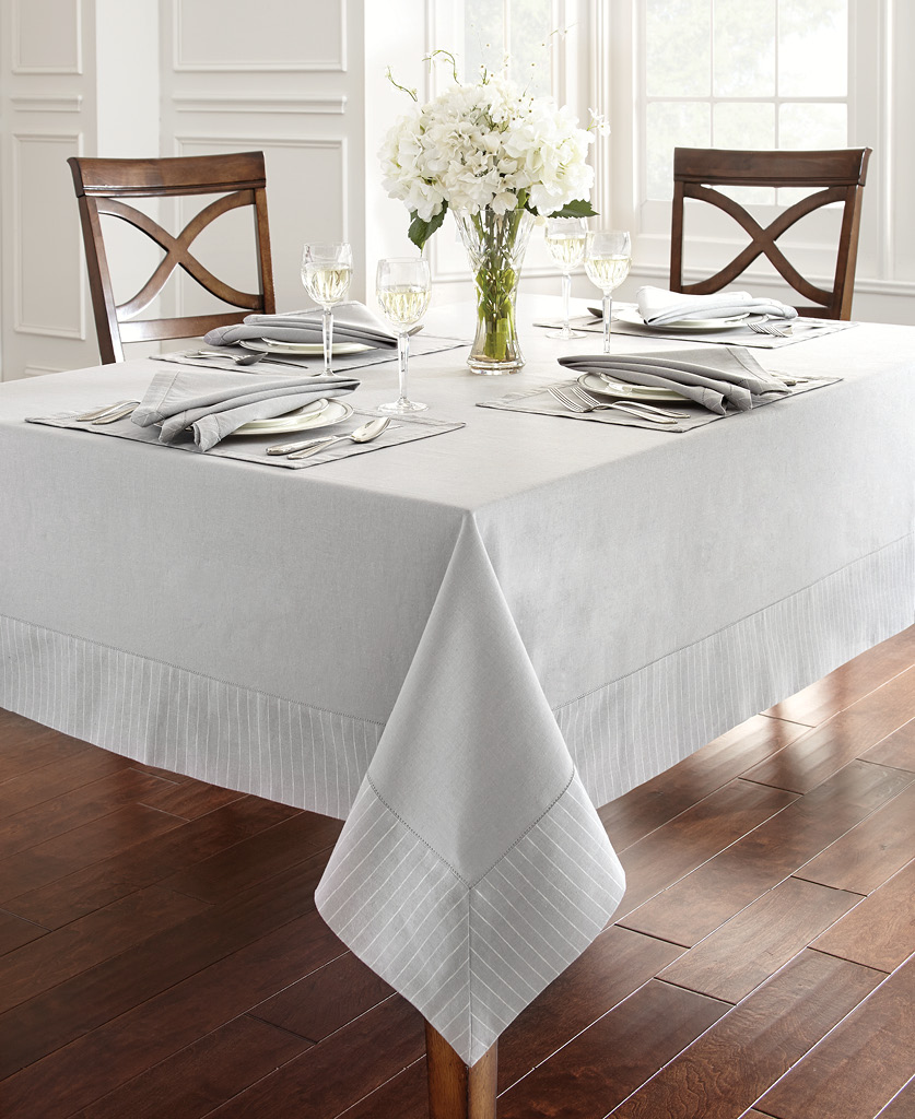Waterford Rigato Table, in Platinum