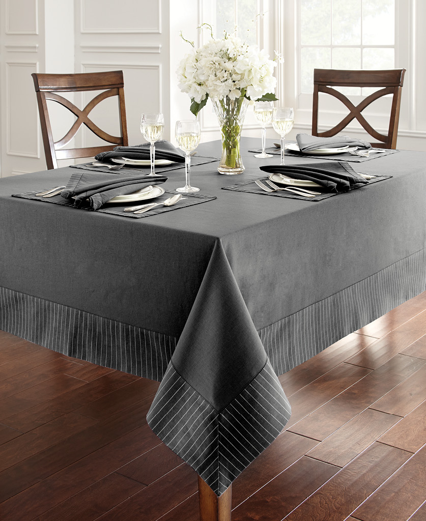 Waterford Rigato Table, in Charcoal