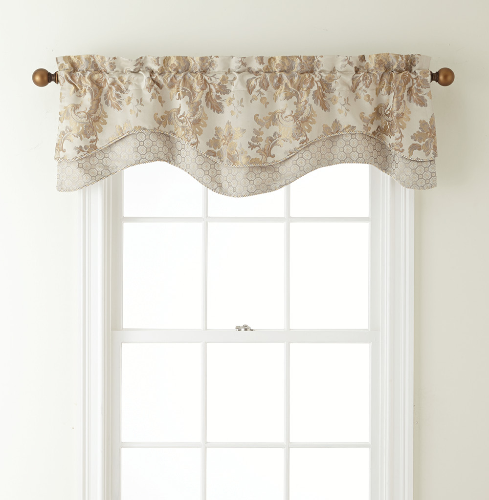 Marcelle Double Valance