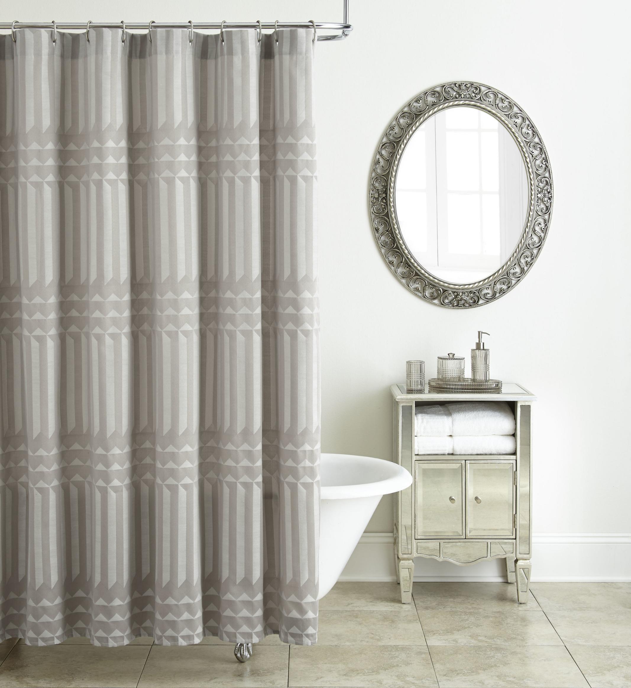 Waterford Diamond Shower Curtain & Bath Ensemble
