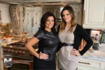 Makeup with RHONJ Kathy Wakile for her BlueStar Appliance Shoot - December 2015