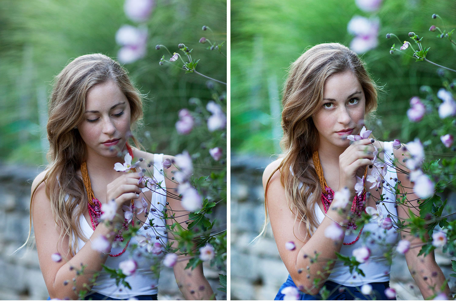 You've Got Flair | Clare Smelling Flowers, Senior 2015