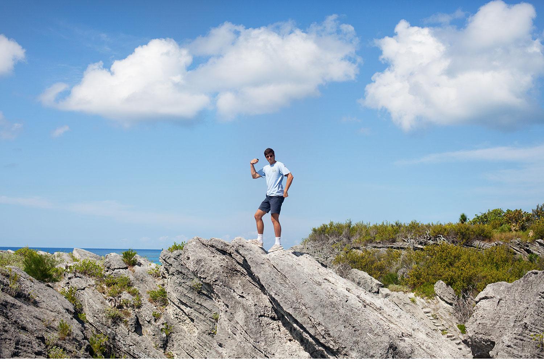 You've Got Flair | Horseshoe Bay, Bermuda Rocks, Summer 2014