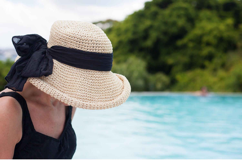 You've Got Flair | Poolside Hat in Bermuda, Summer 2014