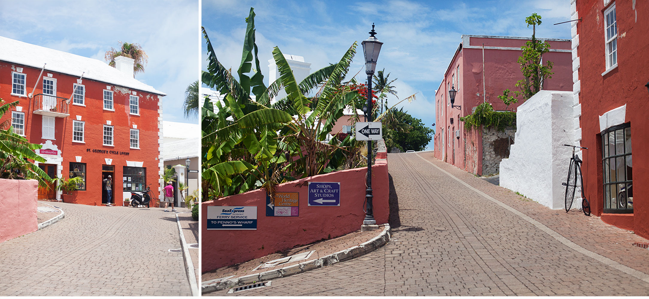 Everything in Bermuda is worth taking a picture of....This is St. George's, the eastern tip of the country.