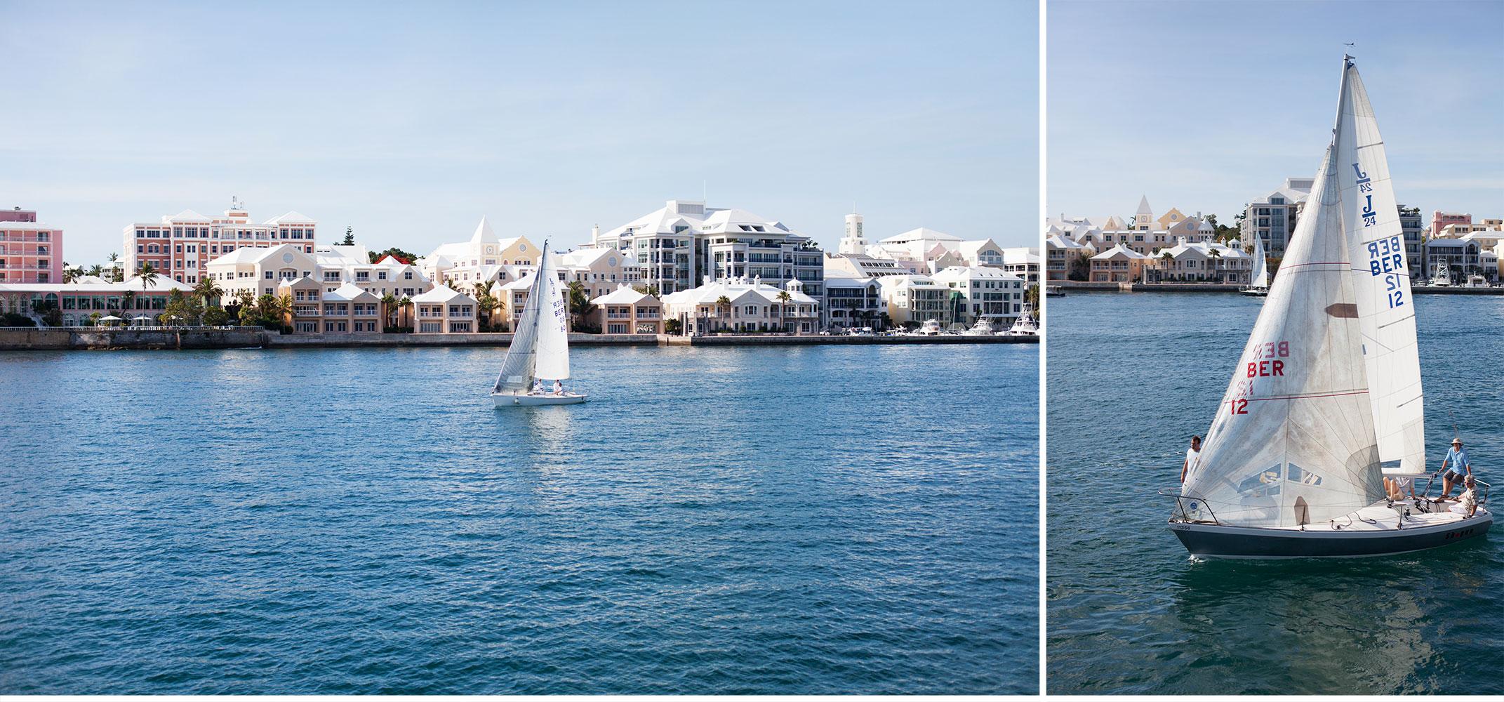 You've Got Flair | Sailboats in Hamilton, Bermuda; Summer 2014