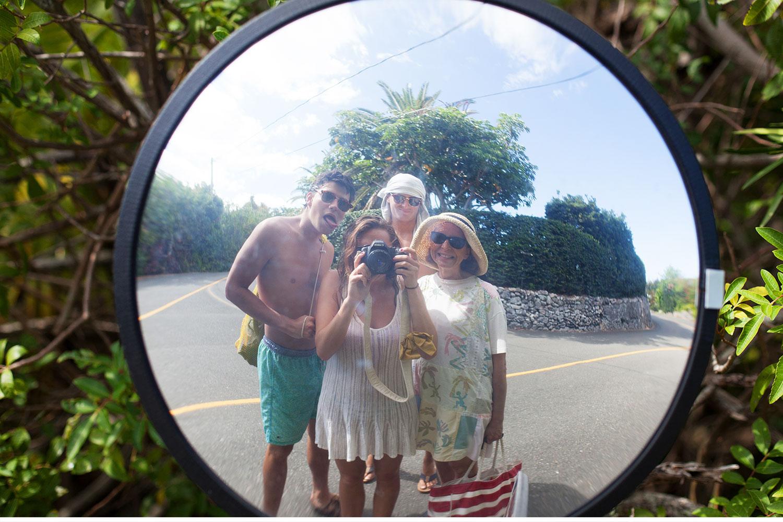 You've Got Flair | Family Mirror Reflection, Bermuda; Summer 2014