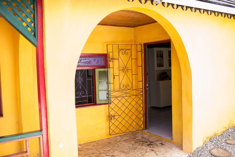The entrance to Bob's house.