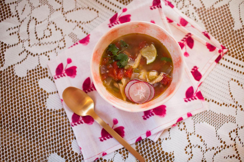 01 /   Chicken Posole Soup