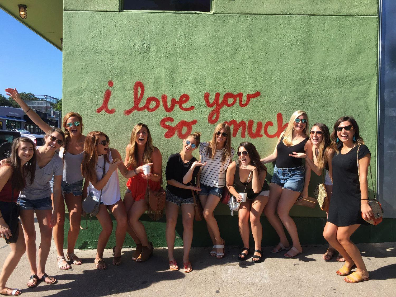 08 /  Kristen's bachelorette party in Austin, TX