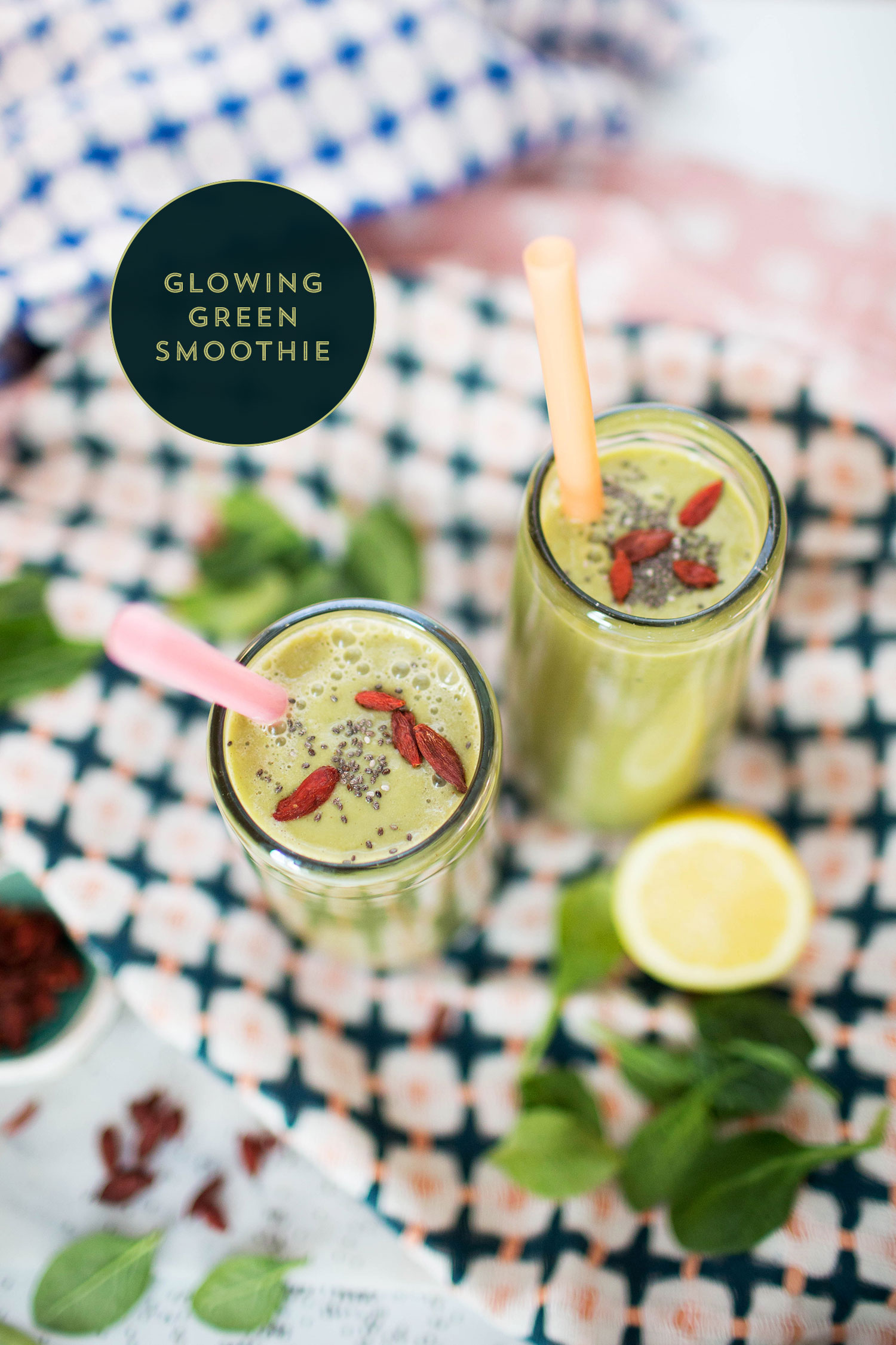 Natalie's Column: Glowing Green Smoothie | You've Got Flair