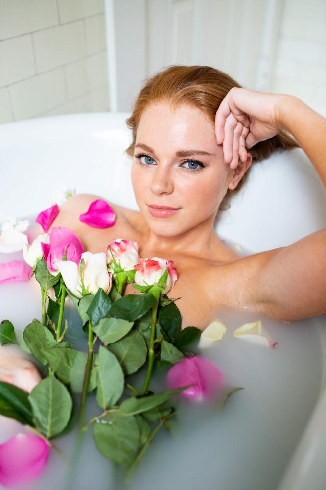 A Floral Milk Bath | You've Got Flair