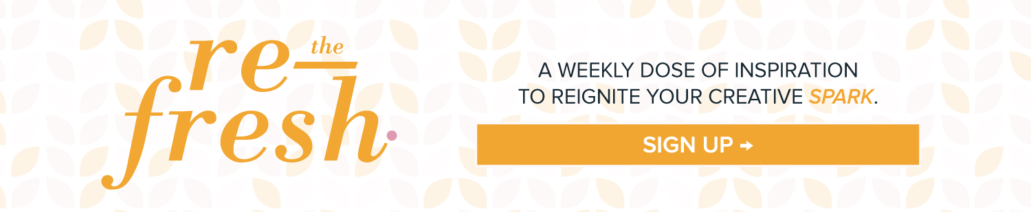 Sign Up for the Refresh | You've Got Flair