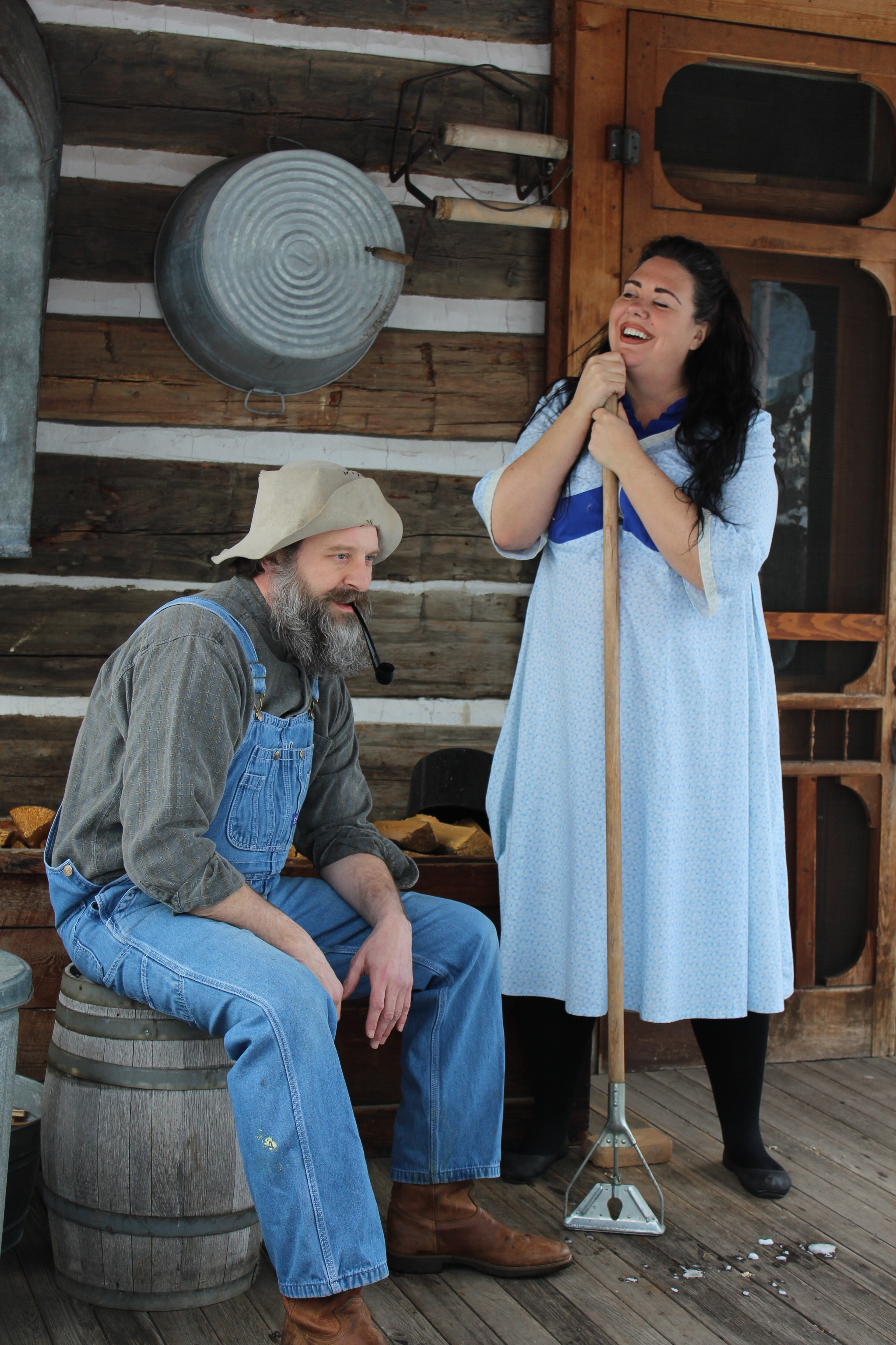 Mike Hesford and Kari Doll_A Moon for the Misbegotten.JPG