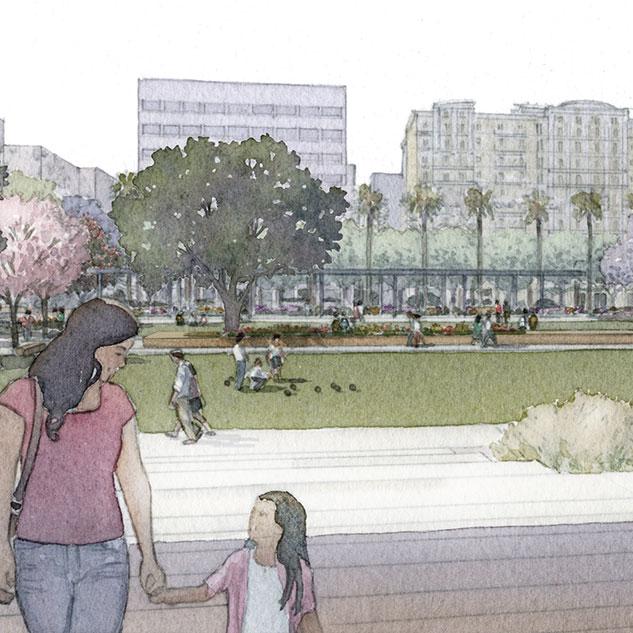 """More amenities . . . A beautiful park . . . ""  − Kuba, Long Beach resident"