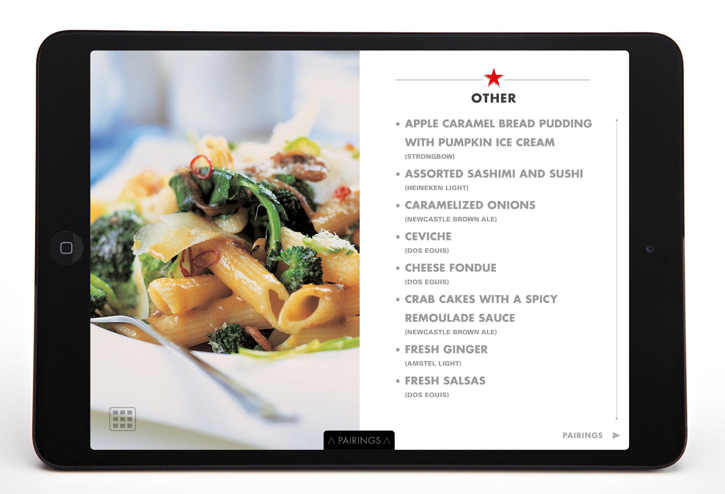 Heineken-food&beer pairing-interactive book49.jpg
