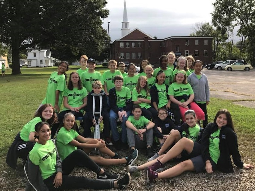 Middle School Fall 2018 Retreat