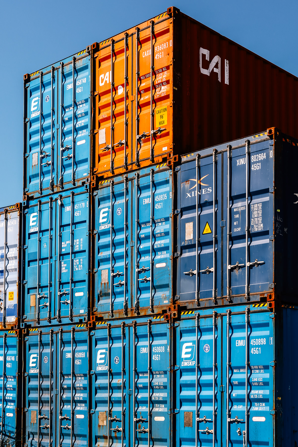 Eimskip Containers at the International Marine Terminal.               Justin Leveqsue © 2016