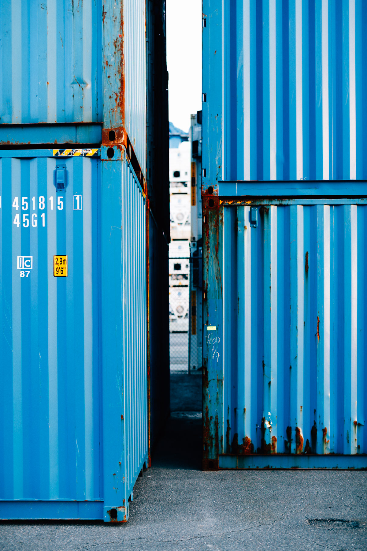 Eimskip Containers at the International Marine Terminal. © Justin Levesque 2017