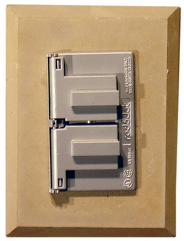 MB3 block w single electrical box