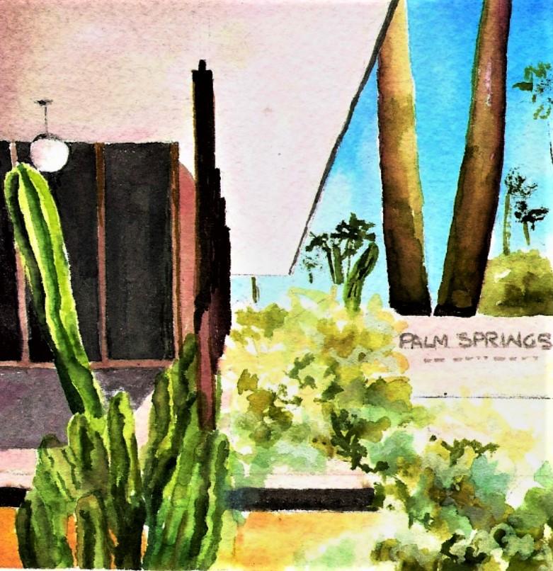 7 CARD NOTECARD SET - A + D CENTER PALM SPRINGS ART MUSEUMAT The Vault, Museum Store