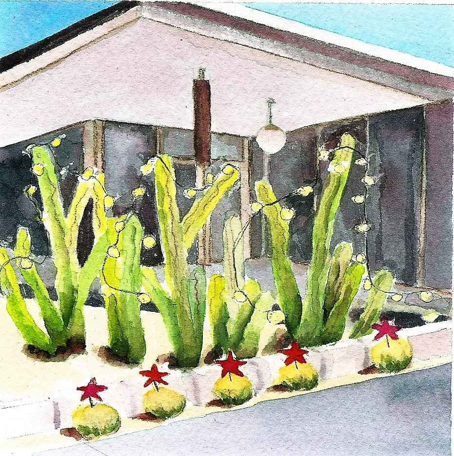 INDIVIDUAL HOLIDAY CARD - A + D CENTER, PALM SPRINGS ART MUSEUMAT The Vault, Museum Store