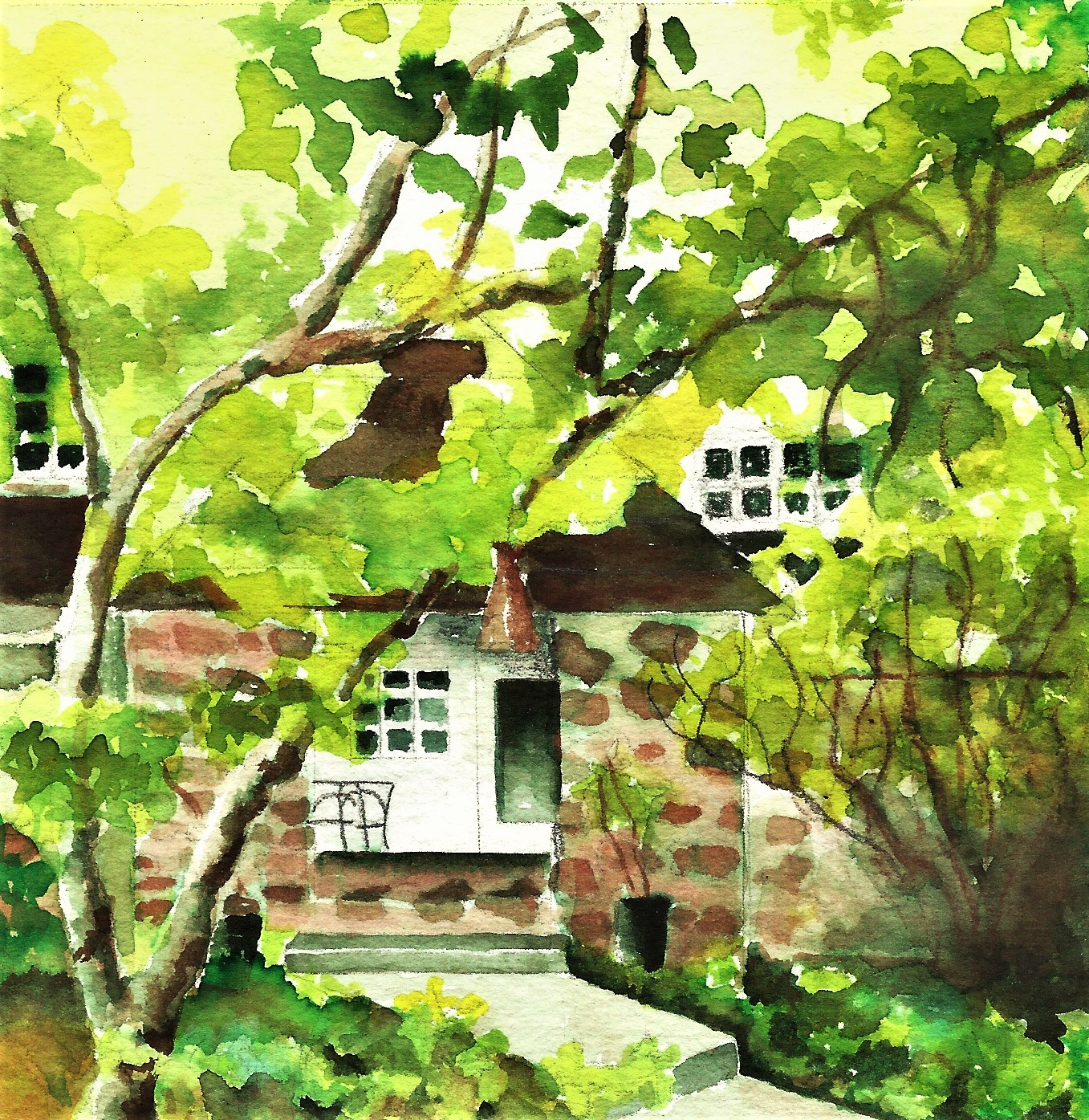 WATERCOLOR PAINTINGS - LAKE OSWEGO HERITAGE COUNCIL