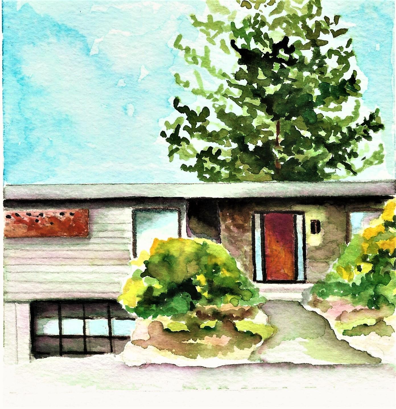 6 NOTECARD SET - RESTORE OREGONMIDCENTURY MODERN SERIES 2019EUGENIS/AMY HOME