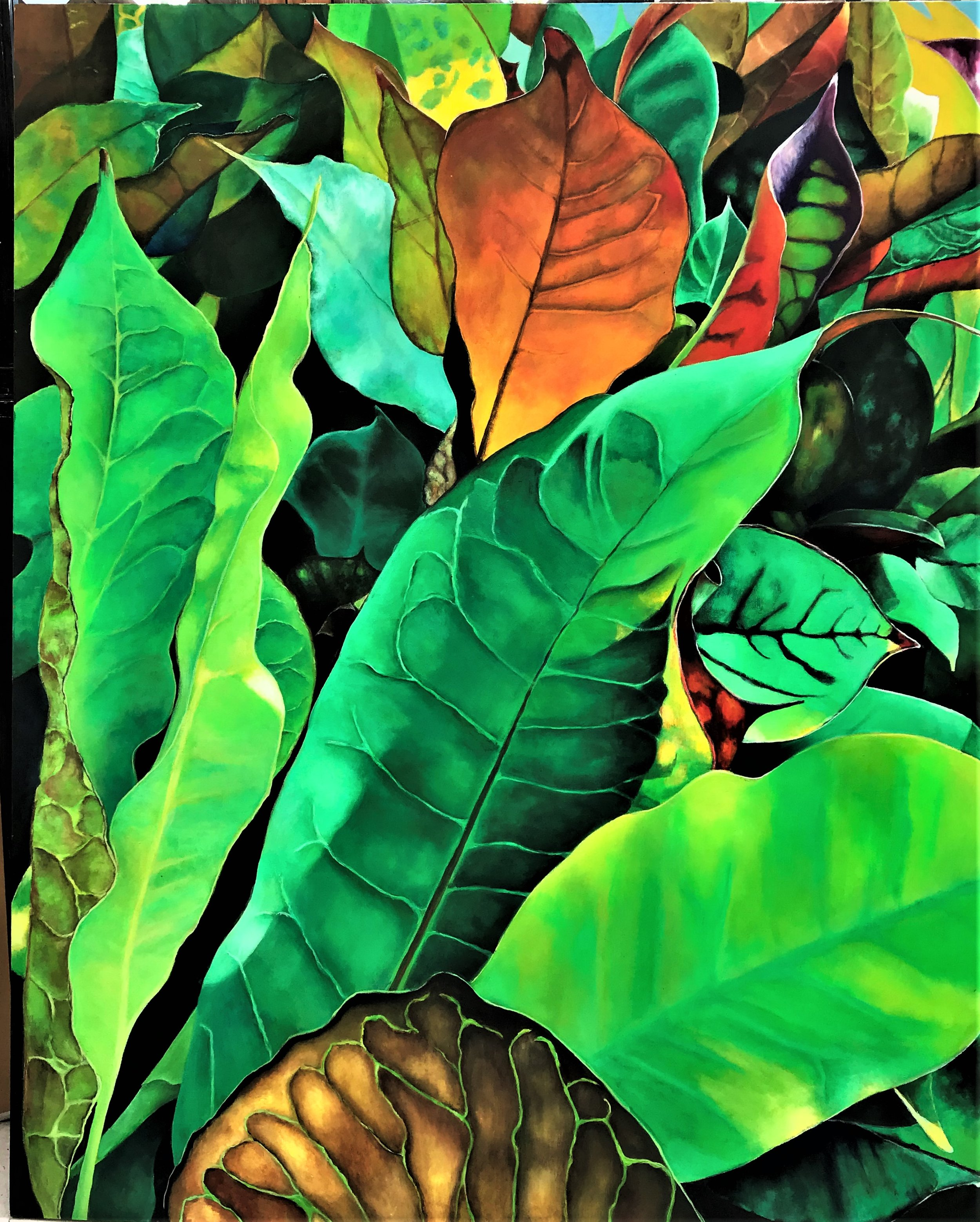 Tropical Foliage VII