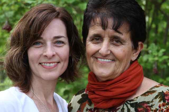 Rebecca with Dr. Rosita Arvigo, DN