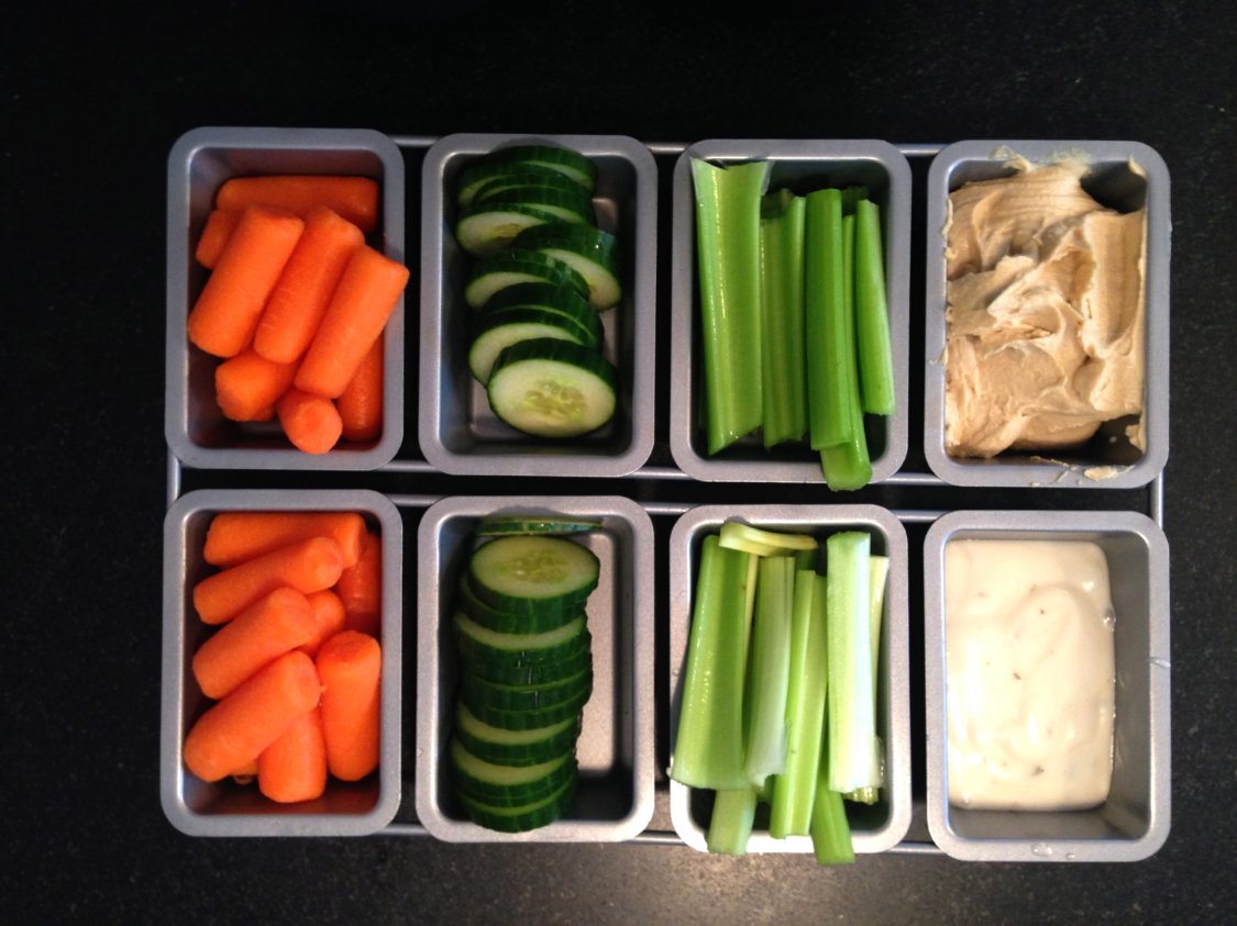 Veggies with Organic Ranch and/or Hummus!
