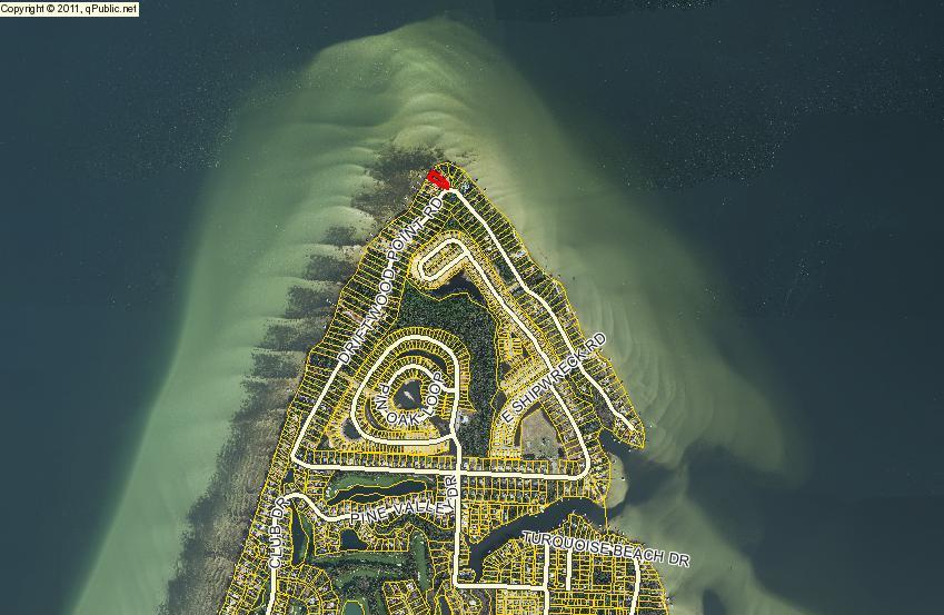 Driftwood Estates Waterfront Lot
