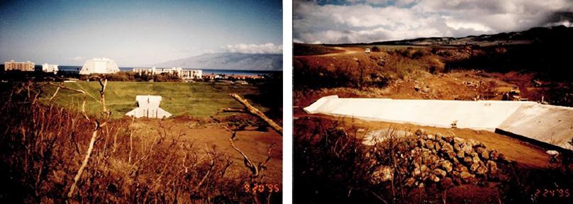 HONOKOWAI DAM—MAHINAHINA BASIN Project Agreement: June 10, 1983 Cost: $3,504,747 Construction Period: September 6, 1994 – Novem