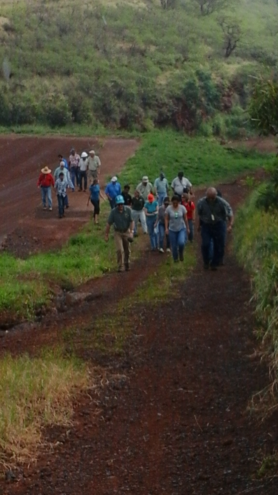 Site Visit at Napili 4-5 Basin